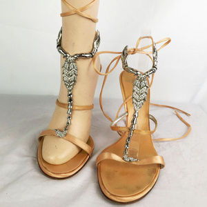 Zanotti Strap Jewel Sandal Scorpion Zodiac